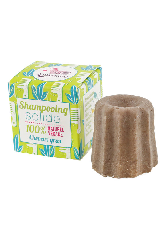 Lamazuna Festes Shampoo für fettiges Haar