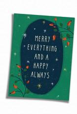 Saluti Sustainable Greetings Postkarte »Always« aus Recyclingpapier