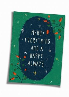 Saluti Sustainable Greetings Postkarte »Always«