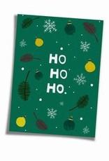 Saluti Sustainable Greetings Postkarte »Hohoho« aus Recyclingpapier