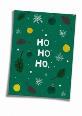 Saluti Sustainable Greetings Postkarte »Hohoho«