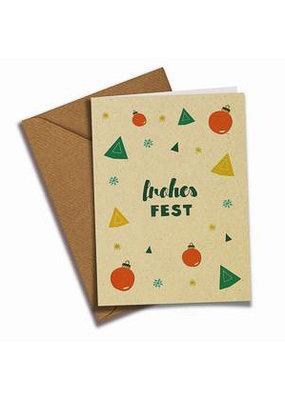 Saluti Postkarte »Frohes Fest«