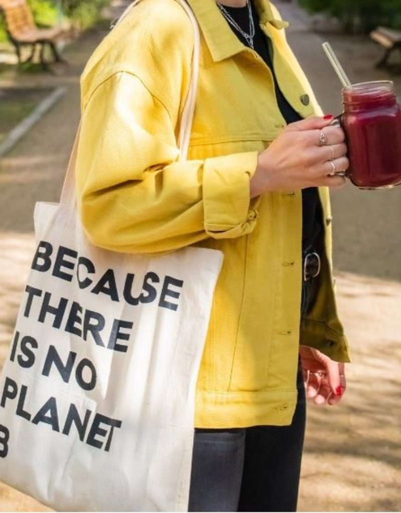"HALM Jute Beutel - ""Because there is no Planet B"""