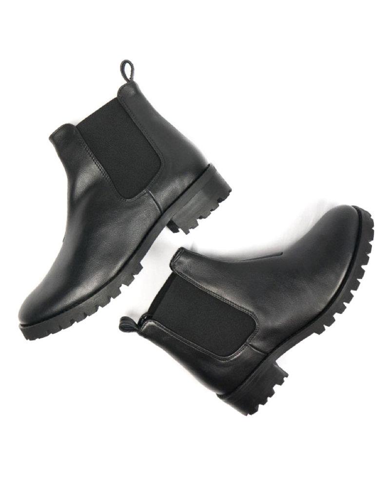 Damen Chelsea Boots / schwarz
