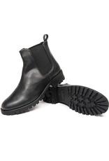 Will's Vegan Shoes Damen Chelsea Boots / schwarz