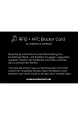 Anders & Komisch Blocker Card für A&K MINI Portemonnaie