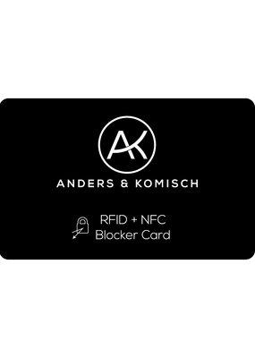 Anders & Komisch Blocker Card für MINI Portemonnaie