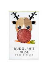 The Konjac Sponge Co  Mini Konjac Sponge Christmas Collection - Rudolph's Nose