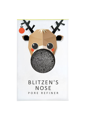 The Konjac Sponge Co Mini Konjac Sponge Christmas Collection - Blitzen's Nose