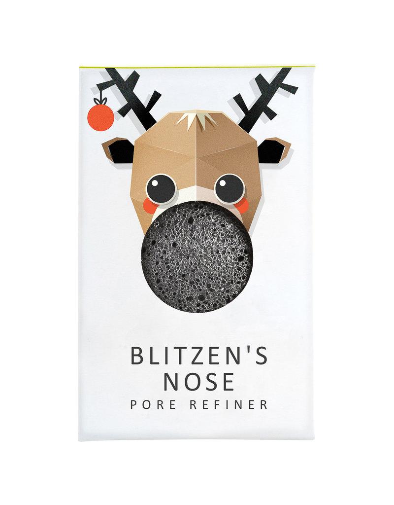 The Konjac Sponge Co  Mini Konjac Sponge Christmas Collection - Blitzen's Nose
