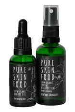 PURE SKIN FOOD Pflegeset für strahlende Haut (alle Hauttypen)