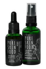 PURE SKIN FOOD Pflegeset für trockene & reife Haut