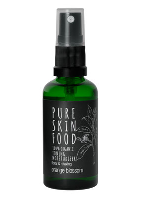 PURE SKIN FOOD Toning Moisturiser Orange Blossom