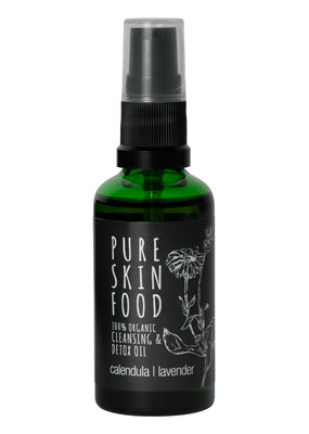 PURE SKIN FOOD Bio Cleansing & Detox Öl - 50 ml