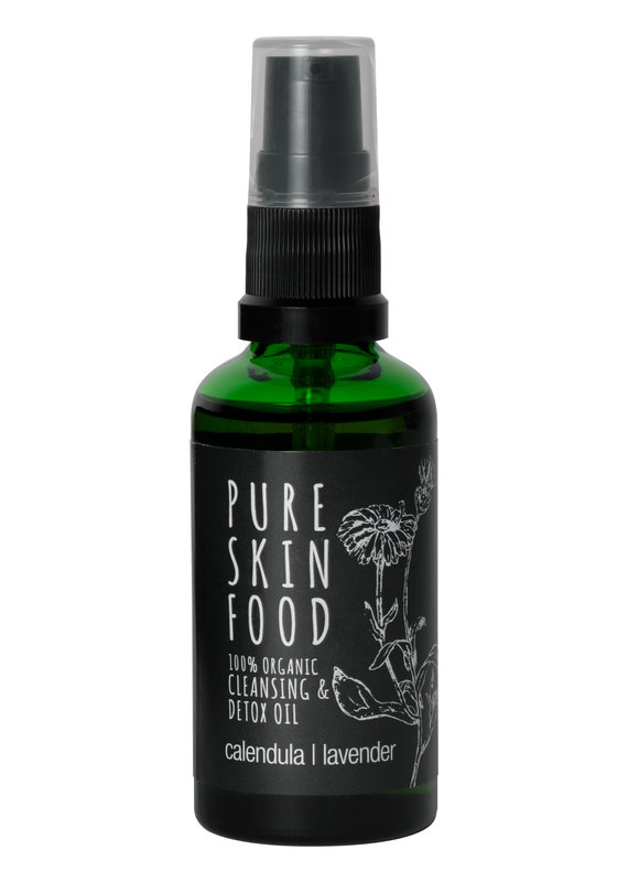 PURE SKIN FOOD Bio Cleansing & Detox Öl - 50 ml