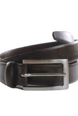 Klassischer Herrengürtel 3 cm / dunkelbraun