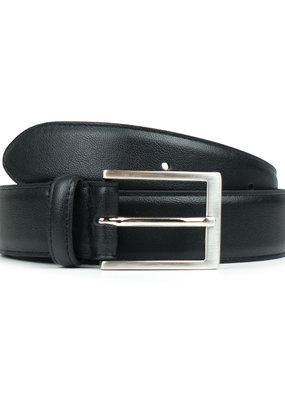 Will's Vegan Shoes Klassischer Herrengürtel 3 cm / schwarz