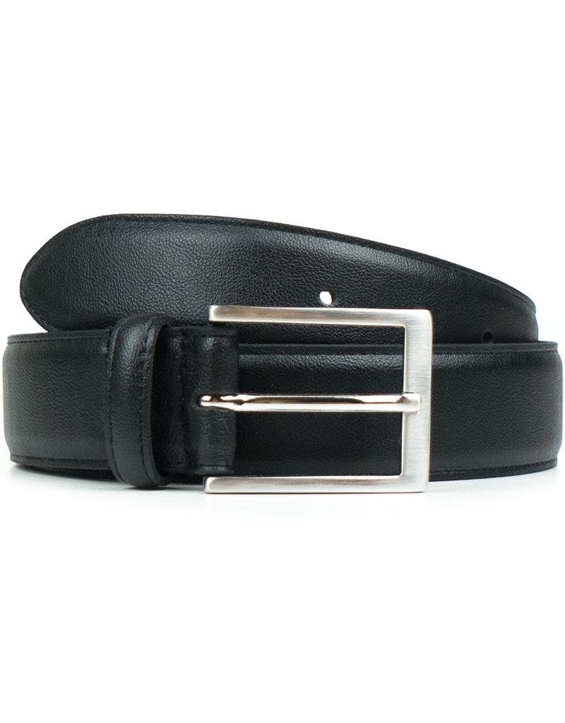 Klassischer Herrengürtel 3 cm / schwarz