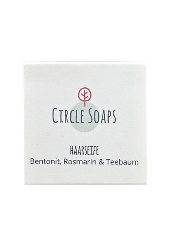 Circle Soaps Haarseife - für fettige Haare/juckende Kopfhaut