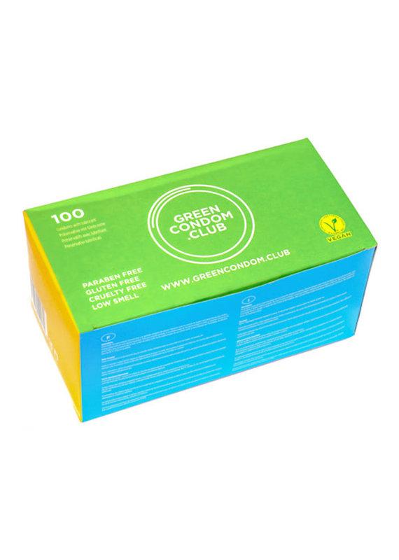Green Condom Club Vegane Kondome / 100er Pack