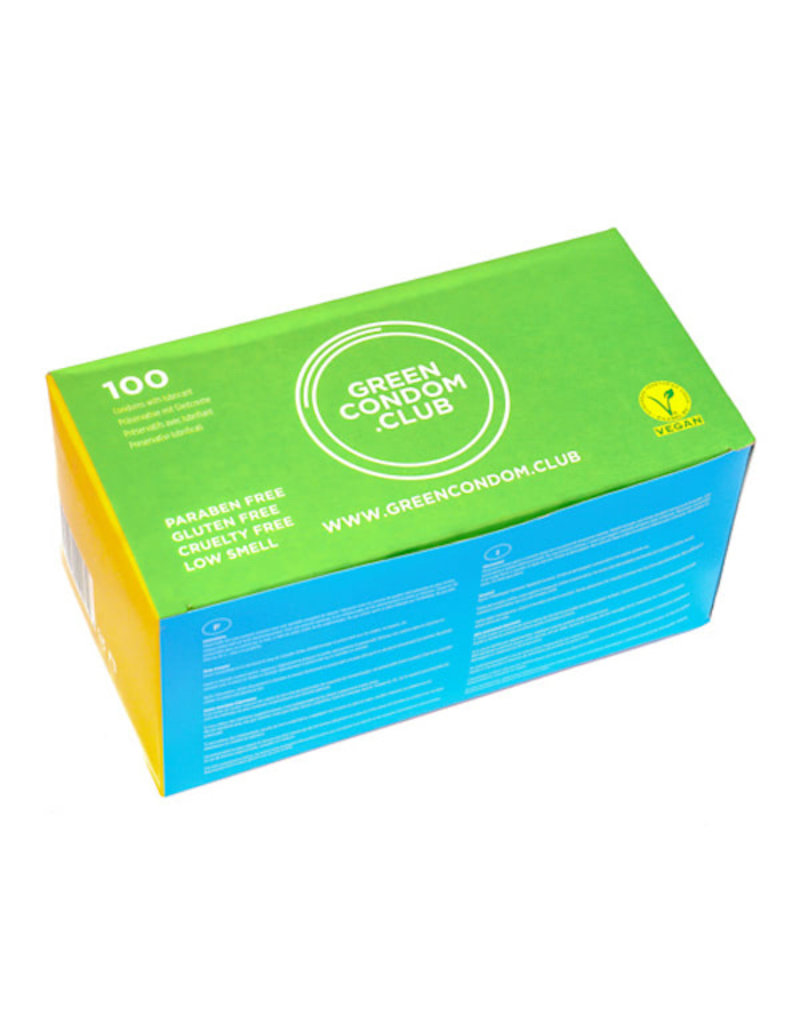 Green Condom Club Vegane Kondome / 100er Pack