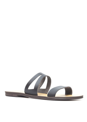 NAE Vegan Shoes Damensandalen Asty / schwarz