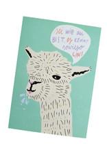 franzizo Postkarte »Lama« aus Recyclingpapier