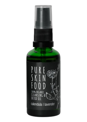 PURE SKIN FOOD Bio Cleansing & Detox Öl - 100 ml