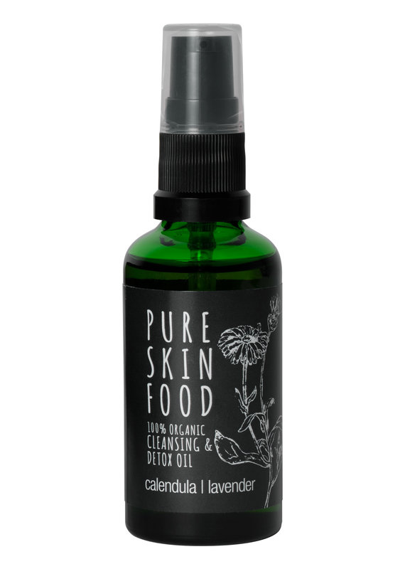 PURE SKIN FOOD Bio Cleansing & Detox Öl - 100 ml