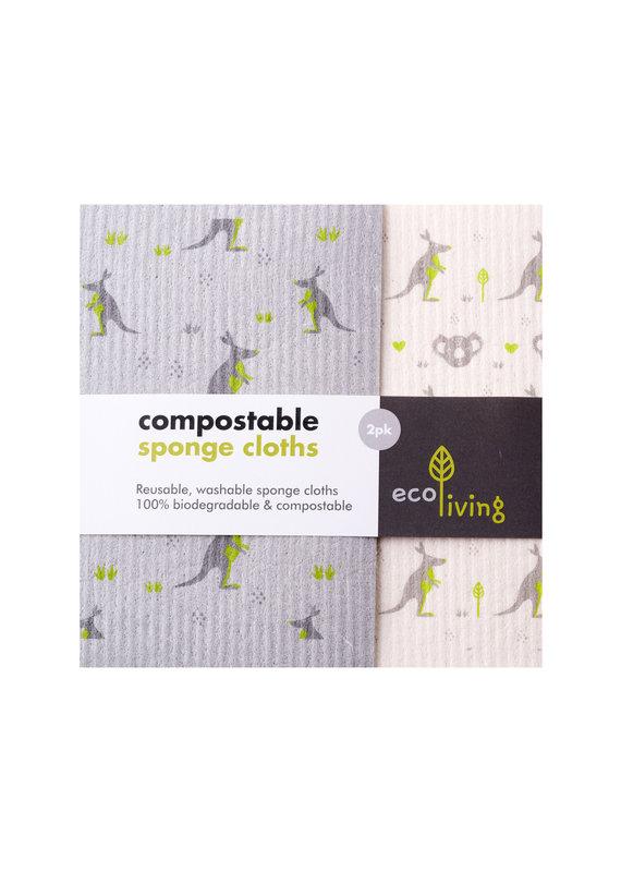 eco Living Kompostierbare Reinigungstücher - Wildlife Rescue