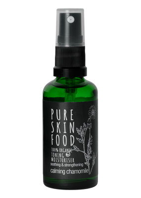 PURE SKIN FOOD Toning Moisturiser Calming Chamomile - 100 ml