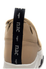 NAE Vegan Shoes Plateau Sneakers Colin / nude