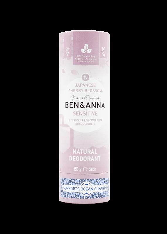 Ben & Anna Sensitive Deo Stick - Cherry Blossom