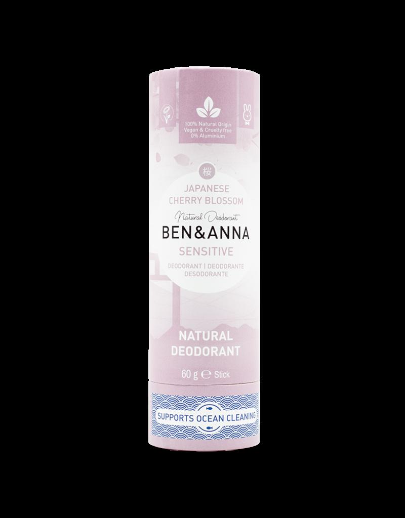 Ben & Anna Veganer Sensitive Deo Stick - Cherry Blossom