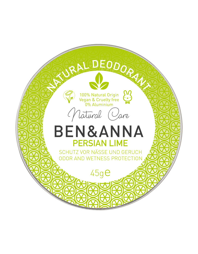 Ben & Anna Deo-Creme in der Metalldose - Persian Lime