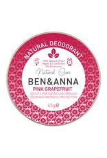 Ben & Anna Deo-Creme in der Metalldose - Pink Grapefruit