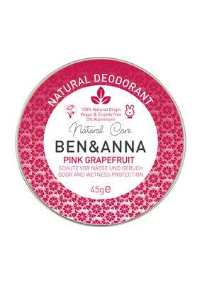 Ben & Anna Deo-Creme - Pink Grapefruit