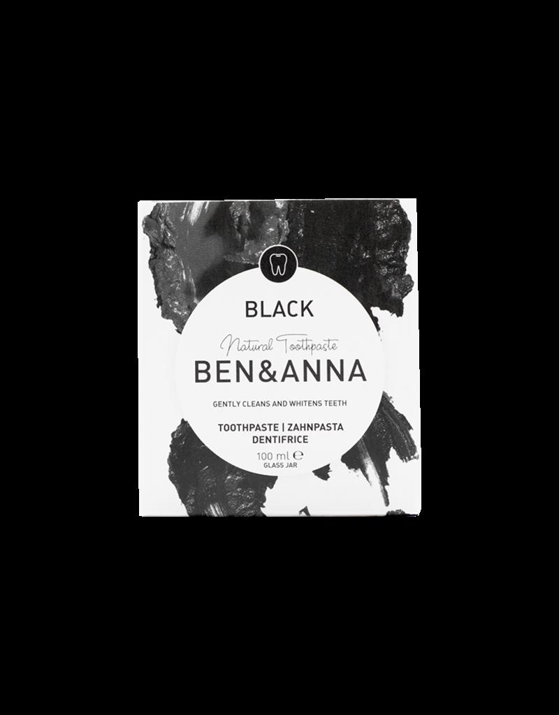 Ben & Anna Zahnpasta mit Aktivkohle - schwarz