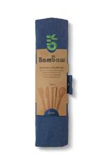 Bambaw Bambus Besteckset  / ocean