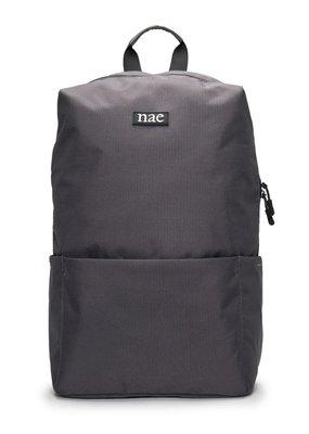 NAE Vegan Shoes Rucksack aus recyceltem Pet / grau