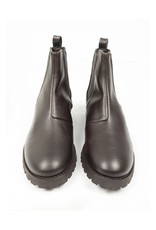 Will's Vegan Shoes Damen Chelsea Boots / dunkelbraun