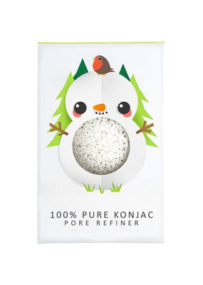 The Konjac Sponge Co Mini Konjac Sponge - Schneemann