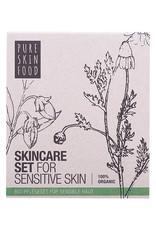 PURE SKIN FOOD Bio Pflegeset für sensible Haut