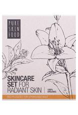 PURE SKIN FOOD Bio Pflegeset für strahlende Haut (alle Hauttypen)
