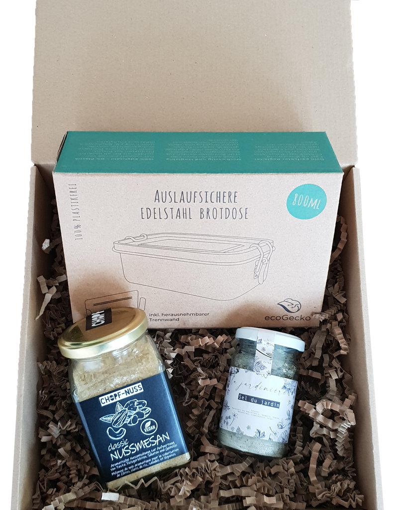 """The Lovely Chickpea Geschenkbox """"Nachhaltig unterwegs"""""""