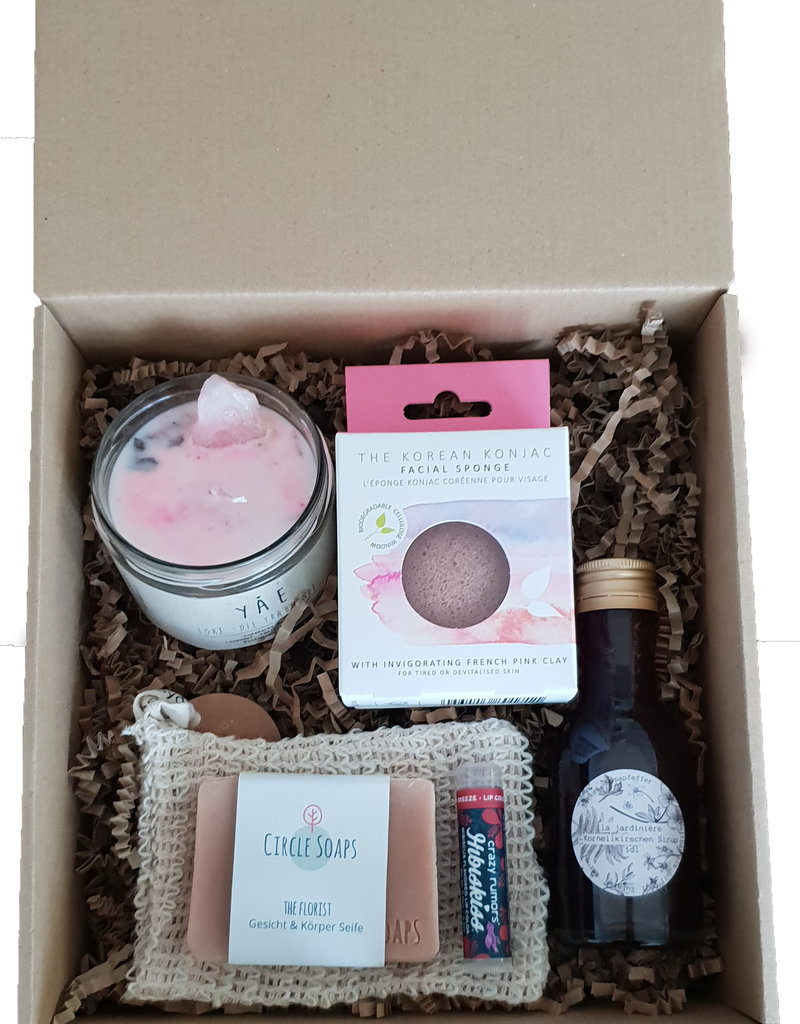 "The Lovely Chickpea Geschenkbox ""Self-Care Weekend"""