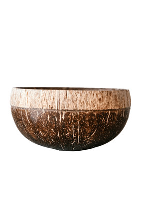 Coconut Bowls Boho Coconut Bowl - Shadow