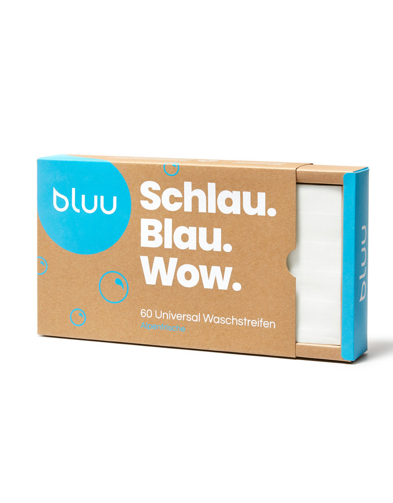 bluu 180 universal Waschstreifen - Alpenfrische