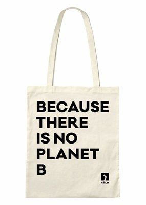 """HALM Jute Beutel - """"Because there is no Planet B"""""""