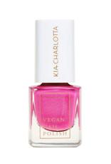 Kia Charlotta Nagellack - No Means No (Purpur Pink), 5ml